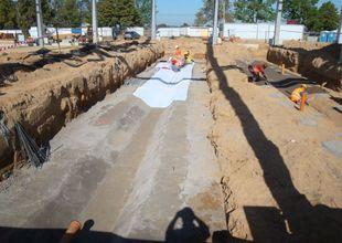 Podkladní betony pro montážní jámy