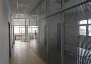Interiér administrativní části