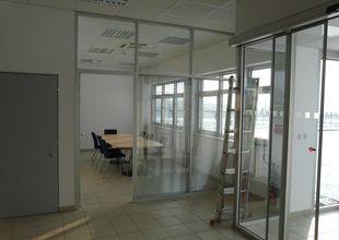 Interiér administrativní části - vstup