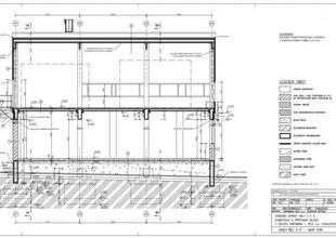 Podélný řez stavbou